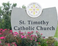 StTimothy EntranceSign